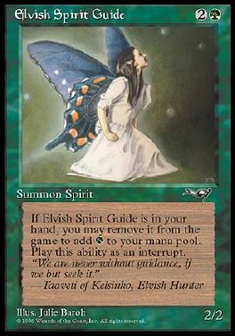 Espiritu guardian elfico