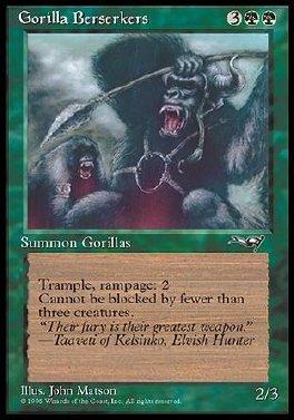 Gorilas enfurecidos