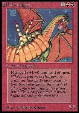 Dragon shivano