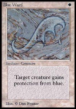 Guarda de azul