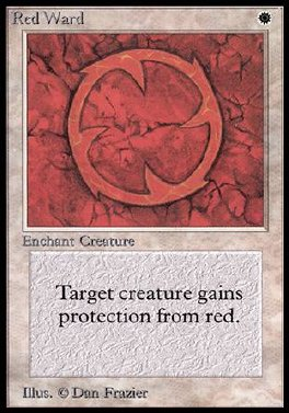 Guarda de rojo