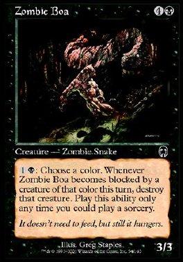 Boa Zombie