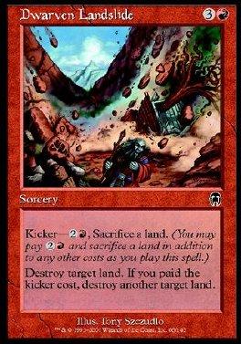 Dwarven Landslide