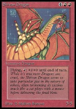 Dragon shivano