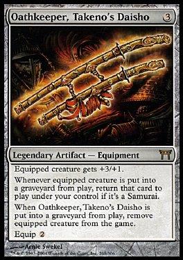Guardian de promesas, daisho de Takeno