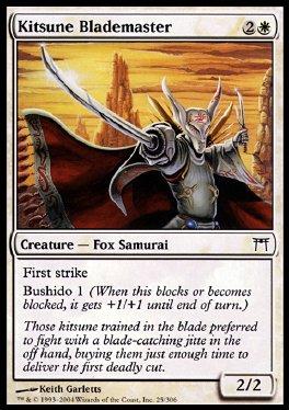 Maestro de filo kitsune