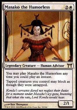 Masako la malhumorada