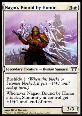 Nagao, ligado por el honor
