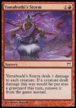 Tormenta del yamabushi