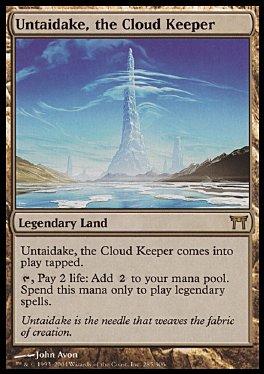 Untaidake, guardian de las nubes