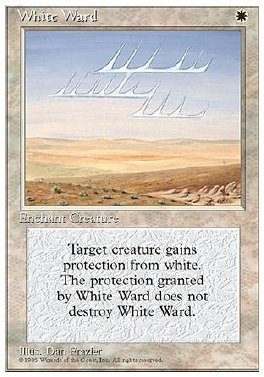 Guarda de blanco