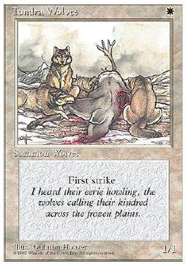 Lobos de la tundra