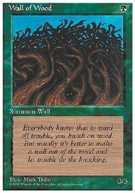 Muro de ramas