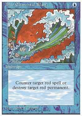 Rafaga elemental azul