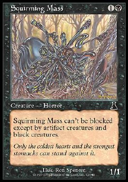Squirming Mass