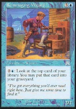 Rummaging Wizard