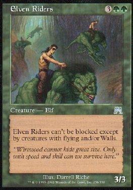 Jinetes elficos