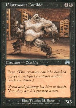 Zombie gloton