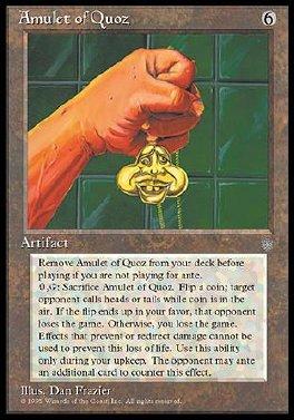 Amuleto de Quoz