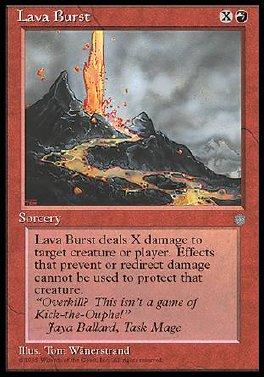 Erupcion de lava
