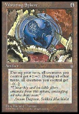 Vibrating Sphere