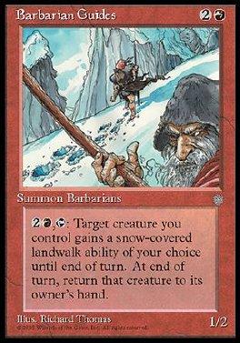 Barbarian Guides