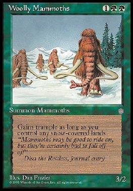 Mamuts lanudos