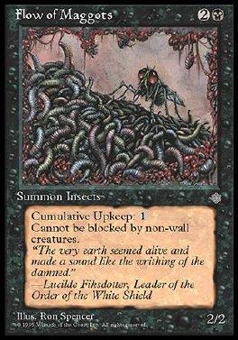 Plaga de larvas