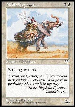 Elefante noble