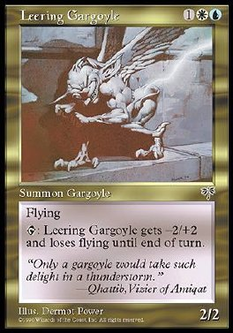 Leering Gargoyle