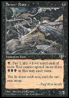 Ratas de alcantarilla