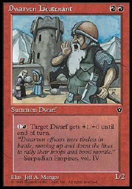 Dwarven Lieutenant