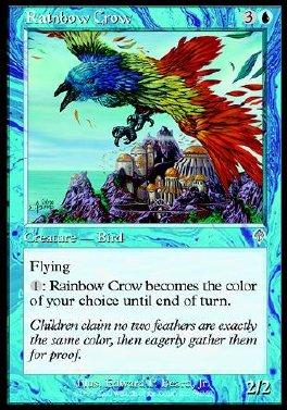Cuervo Arcoiris