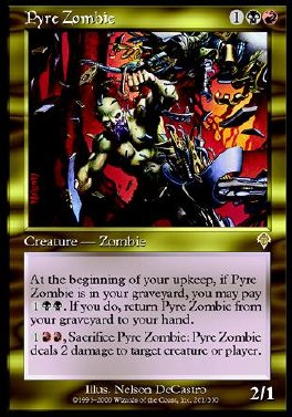 Pyre Zombie