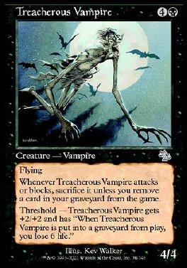 Treacherous Vampire