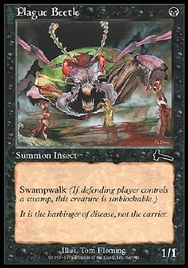 Escarabajo de la peste