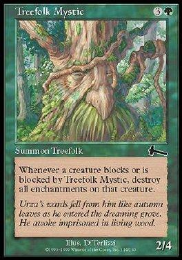 Mistico del pueblo arboreo