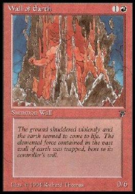 Wall of Earth