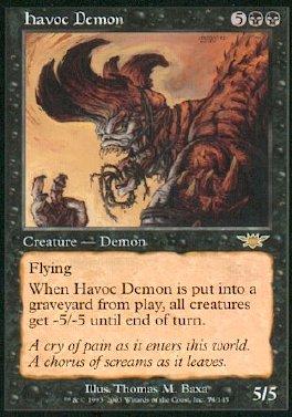Demonio devastador
