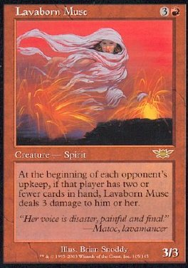 Musa nacida de la lava