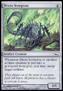 Escorpion del Dros