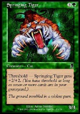 Tigre saltador