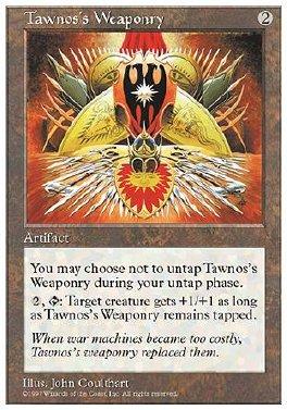 Armamento de Tawnos