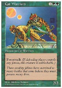 Guerreros felinos
