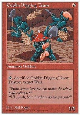 Goblin Digging Team