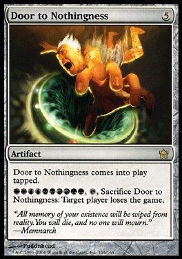 Door to Nothingness