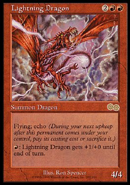 Dragon relampago