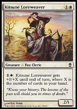 Tejedor de cuentos kitsune
