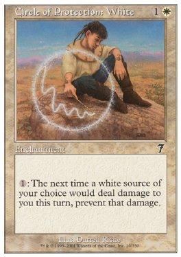 Circulo de proteccion: blanco