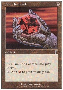 Diamante flamigero